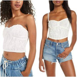 NWT Free People All I Want Corset Camisole XS
